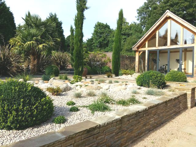 Gravel Garden Rothley Leicestershire